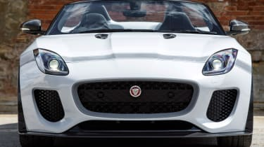 <span>The Project 7 remains rear-drive only and the 8-speed 'Quickshift' automatic gearbox has a bespoke tune for faster response and snappier shifts</span>