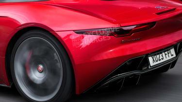Jaguar F-Type - rear detail (watermarked)