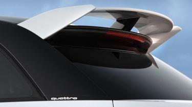 Audi A1 quattro rear spoiler