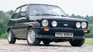 40 years of Fiesta - Mk1 XR2