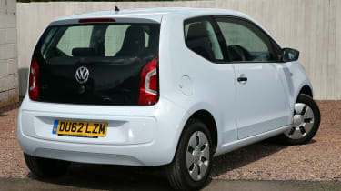 Used Volkswagen up! - rear