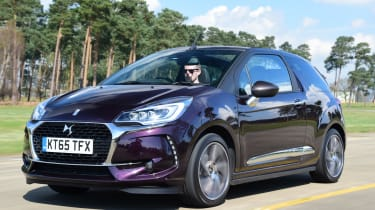 DS 3 Cabrio 2016 - front tracking