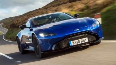Aston Martin Vantage - front