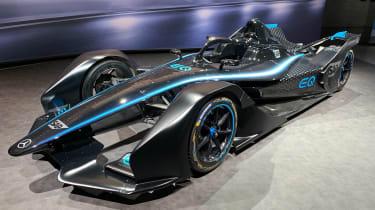 Mercedes Formula E - Geneva front