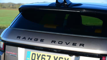 Range Rover Evoque SD4 - rear detail