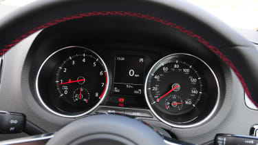 VW Polo GTI 2015 dials