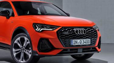 Audi Q3 Sportback - orange front detail
