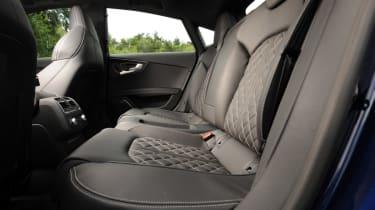 Audi S7 rear seats