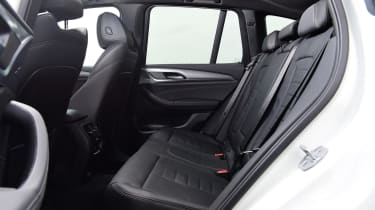 BMW X3 - middle seats