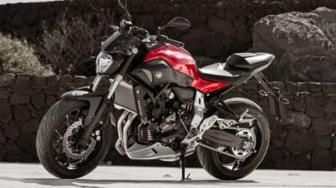 Yamaha MT-07 review - static
