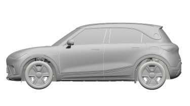 Smart SUV - design patent side
