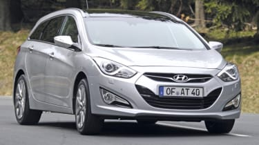 Hyundai i40 estate front
