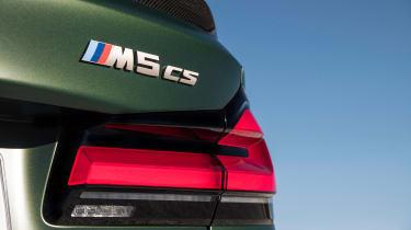 BMW M5 CS - bagde