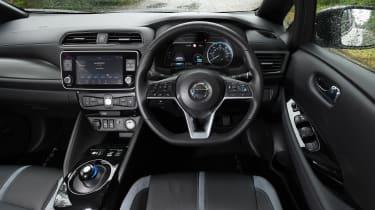 Nissan Leaf e+ - dash