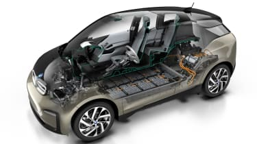 New updated BMW i3 battery