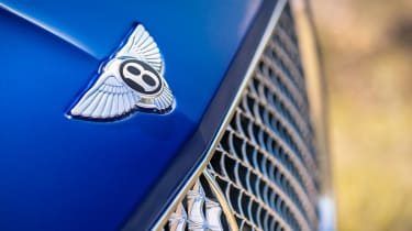 Bentley Continental GT - grille