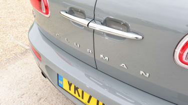 MINI Cooper Black Clubman - rear detail