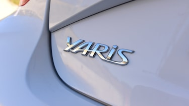 Toyota Yaris GRMN - Yaris badge
