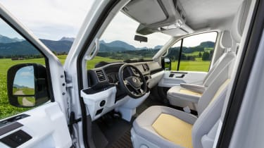 VW California XXL door