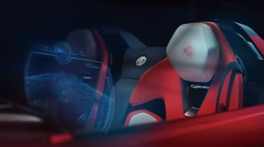 MG Cyberster - seat