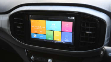 MG3 - infotainment