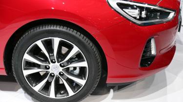 Hyundai i30 Tourer Geneva - wheel detail