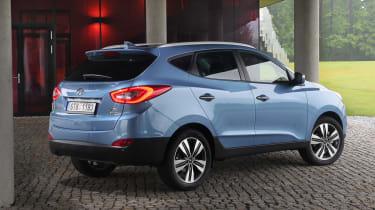 Hyundai ix35 Premium SE rear