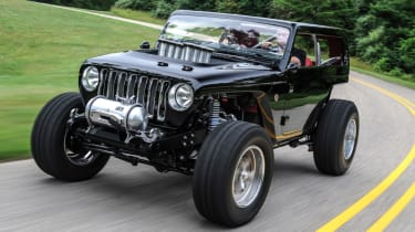 Jeep's wildest concepts driven - Quicksand front