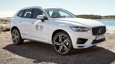 Volvo XC60 recycled plastic front static
