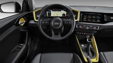New Audi A1 - steering wheel