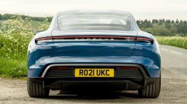 Porsche Taycan RWD - full rear