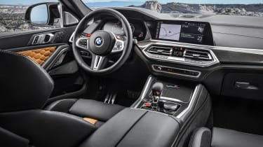 BMW X6 M Competition - dash
