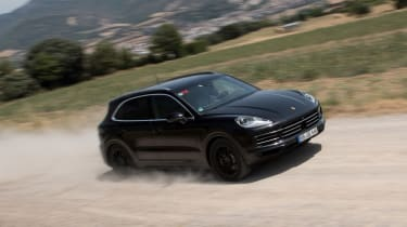 Porsche Cayenne prototype - front action
