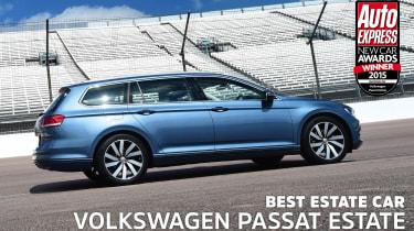 VW Passat Estate - awards