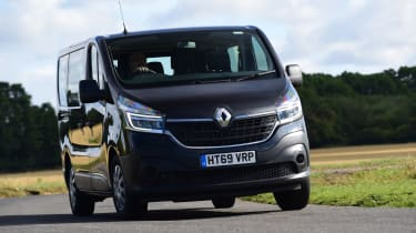 Best cars with sliding doors - Renault Trafic