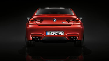 BMW M6 Competition Package rear