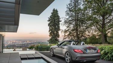 Mercedes SLC roadster - static