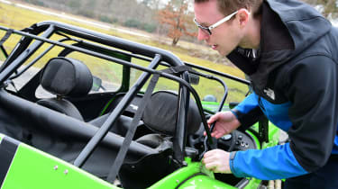 Long-term test review: Caterham 270S - roof problems