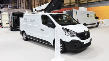 Renault Trafic front white