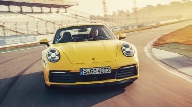 Porsche 911 - full front