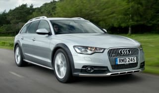 Audi A6 Allroad front action