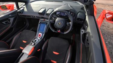 Lamborghini Huracan Evo Spyder - cabin