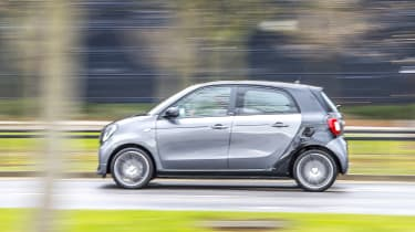 Smart Brabus ForFour 2017 - side tracking