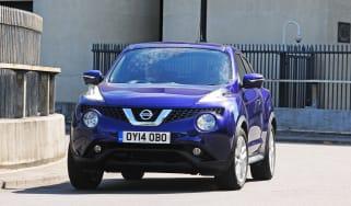 New Nissan Juke 2014 front