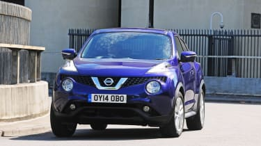 New Nissan Juke 2014 front