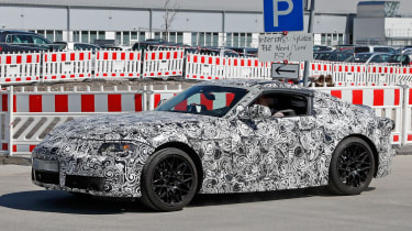 New Toyota Supra side
