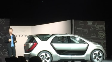 Chrysler Portal - CES reveal stage