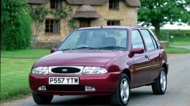 40 years of Fiesta - Fiesta Mk4 front three quarter