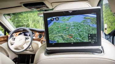 Bentley Mulsanne 2016 - rear screen