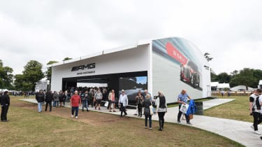 Mercedes is celebrating 50 years of its AMG performance brand at Goodwood, with a strong lineup of historic and new cars.